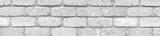 panorama texture old gray  brick wall