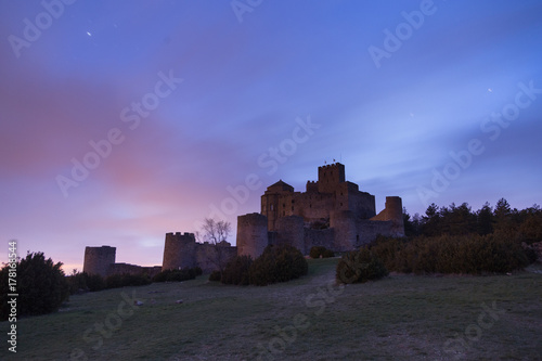 Loarre Castle (Castillo de Loarre) in Huesca Province, Aragon, Spain Poster