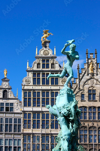Plexiglas Antwerpen Anvers - Grand place