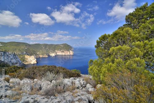 Costa norte de Ibiza (Spain)