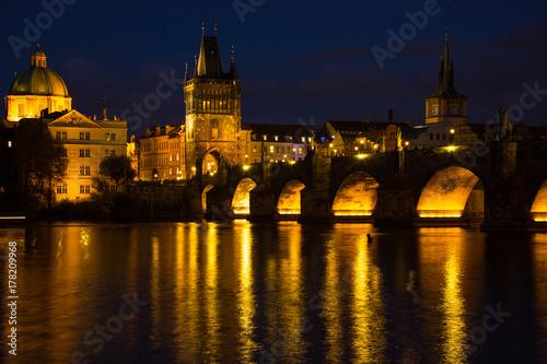 Papiers peints Prague Night Prague
