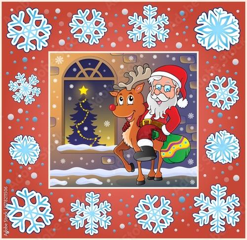 Papiers peints Enfants Christmas ornamental greeting card 9