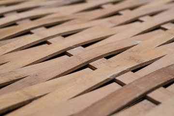 Board of bamboo wicker in detail, Traditional Asian wood for construction, Bamboo board, Bamboo texture