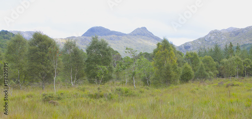 Foto op Canvas Wit The Beauty Of The Scottish Highlands