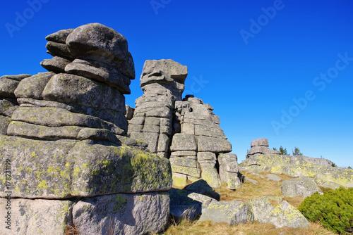 Mädelsteine im Riesengebirge - Maiden Rocks in Giant  Mountains Poster