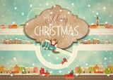Merry Christmas Greeting Card - 178234982