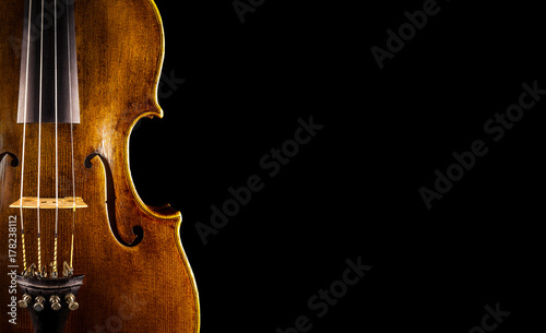 close up of a violin - 178238112