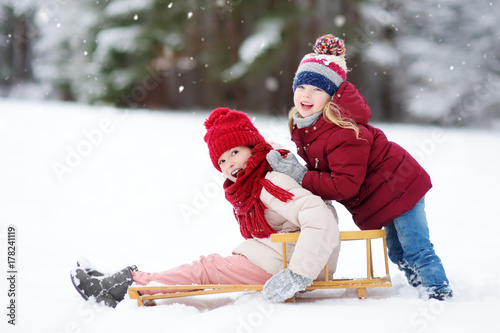 Two amazing girl having fun in the park