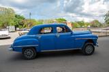 Coche americano en Cuba