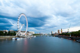 London at dawn. View from Golden Jubilee bridge - 178253190