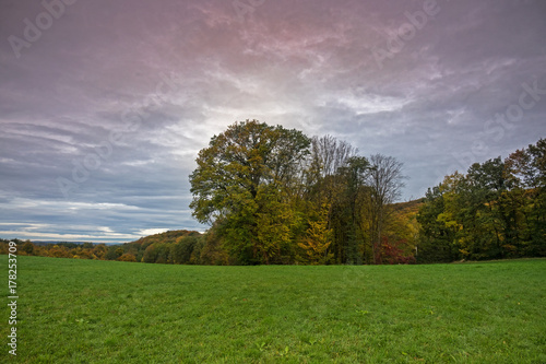 Aluminium Landschappen Landschaft Im Herbst