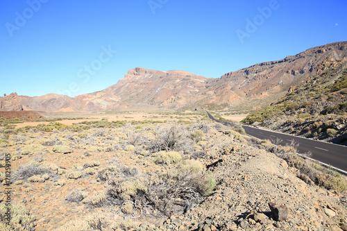 Deurstickers Canarische Eilanden El Teide National Park on Tenerife Island, Canary Islands, Spain
