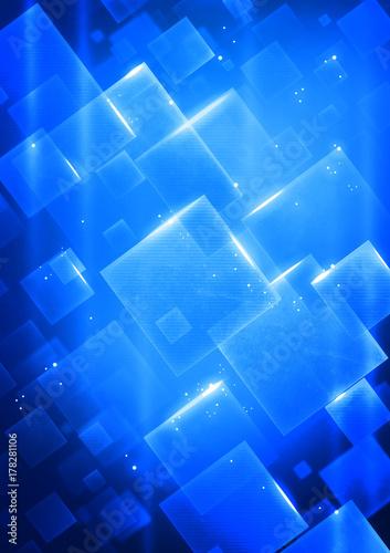 Fotobehang Abstractie Cyberspace background