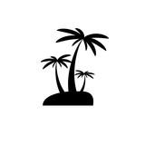 Palms icon vector - 178282958