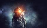 Adventure of spaceman. Mixed media - 178285731