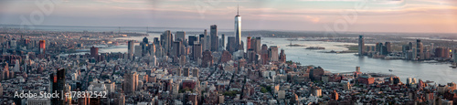 new york skyline panorama - 178312542
