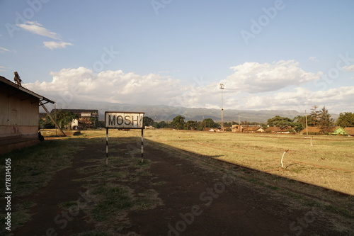 Papiers peints Gris traffic Moshi Tansania