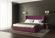 Classic luxury modern chic bedroom with tufted bed