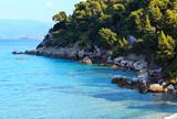 Summer sea coast (Halkidiki, Greece). - 178326313