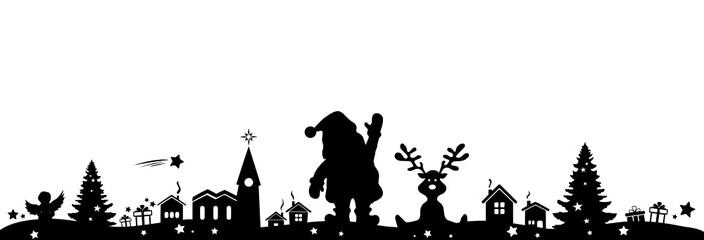 Skyline Weihnachten