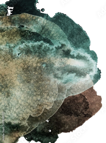 Detailed background with watercolor texture - 178385712
