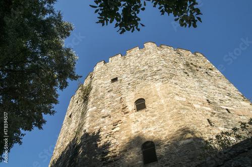 Yedikule castle in Istanbul, Turkey