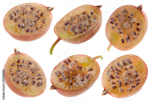Poster Gooseberry fruit collection