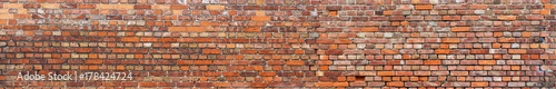 Papiers peints Brick wall Backsteinmauer