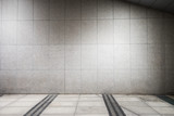 empty floor and marble wall backgrounds