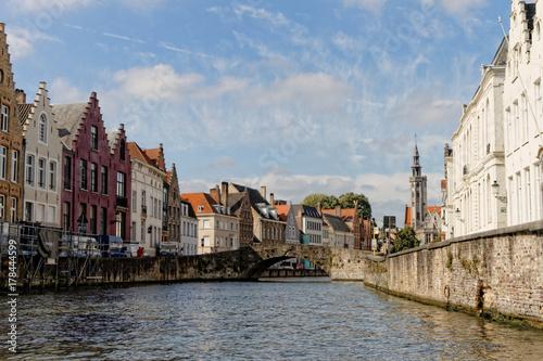 Fotobehang Brugge Bruges, la Venise du nord, Belgique