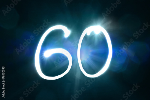 60 Lichtmalere Poster