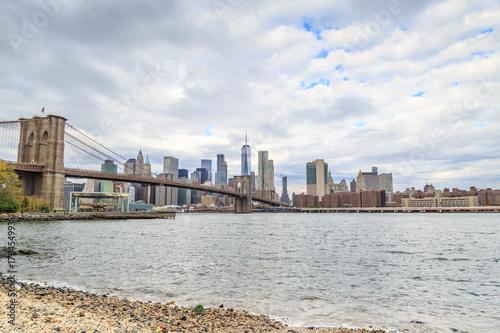 Foto op Aluminium New York Manhattan Viewed from DUMBO