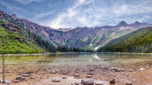 Papiers peints Saumon Avalanche Lake