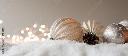 Foto op Aluminium Panoramafoto s weihnachten panorama