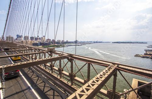 Fotobehang New York Beautiful view from Brooklyn Bridge, NYC
