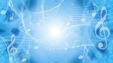 音符による音楽のイメージ背景 - 178533999