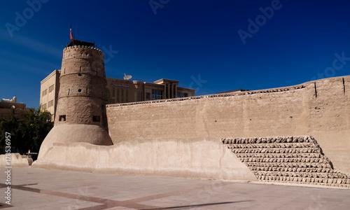 Papiers peints Dubai Exterior view to Al Fahidi fort in Dubai, UAE