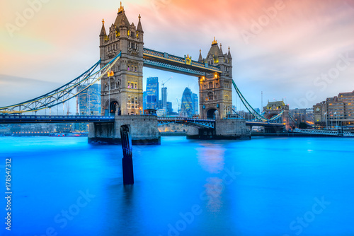 Foto op Plexiglas London Tower Bridge, London, UK