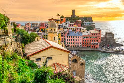 Vernazza, Cinque Terre National Park, Liguria, Italy Poster