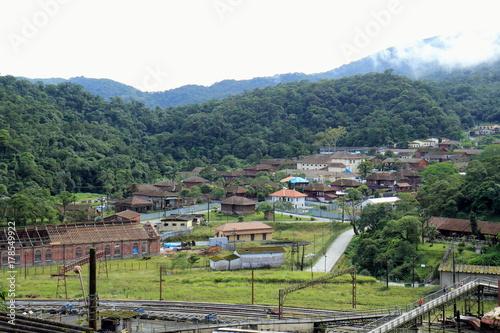 Foto op Plexiglas Pistache City of Paranapiacaba.