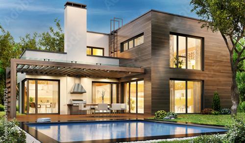 Obraz na płótnie The dream house 83