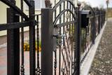 fence iron - 178586747