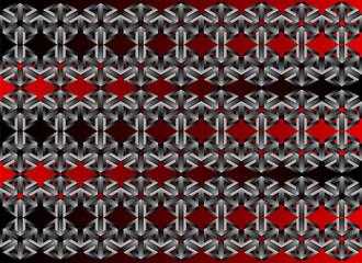 3d metal geometric pattern - Illustration, Wallpaper, Backgrounds, Pattern, Abstract Cube Shape, Geometric Shape, Shadow, Shape, Steps, design, fabric printing - vector