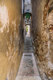 Fototapety Famous Vicolo Stretto in Taormina
