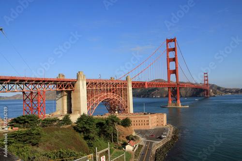 Golden Gate bridge in San Francisco, USA Poster