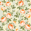 Luxurious peony wallapaper in vintage style. Seamless pattern of blooming roses for floral wallpaper. Vector illustration. - 178634706