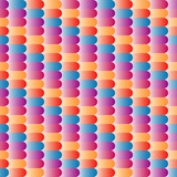 Geometric seamless pattern. Vector abstract colorful background.