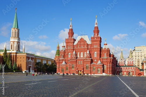 Aluminium Moskou Москва. Исторический музей на Красной площади.