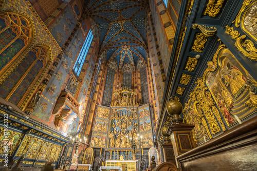 Papiers peints Cracovie Marienkirche
