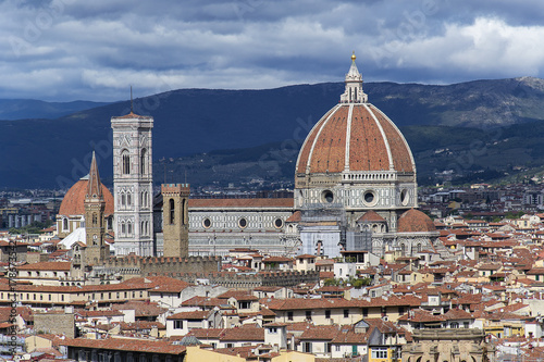 Deurstickers Toscane Florencia, Italia